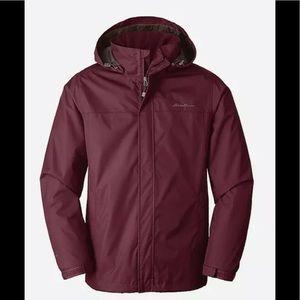 Eddie Bauer Men's Rainfoil Rain Jacket